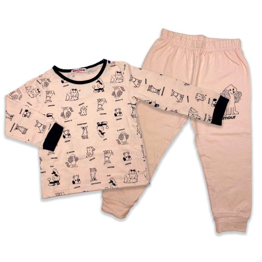 Kislány kutyusos pizsama