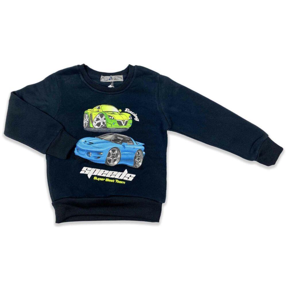 Kisfiú bélelt pulóver