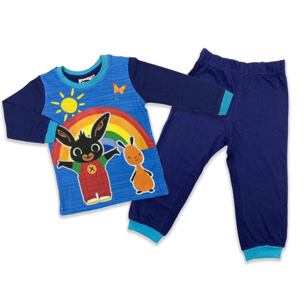 Bing nyuszi mintás kisfiú pizsama