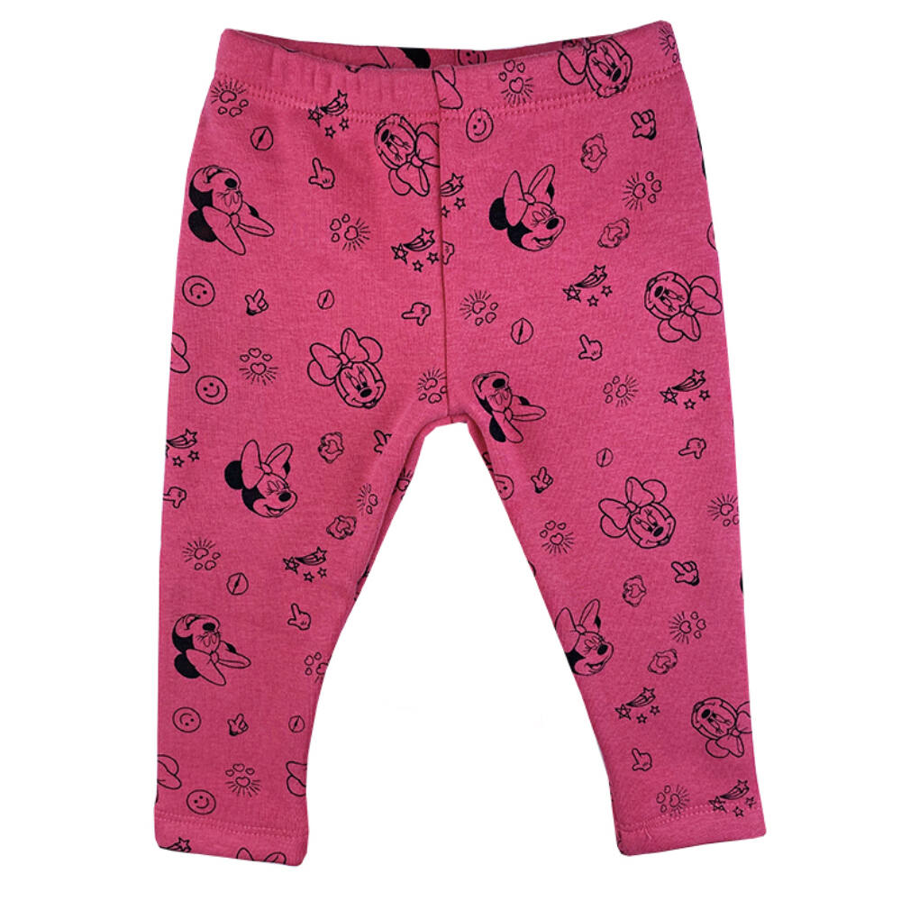 Minnie mintás kislány bélelt leggings