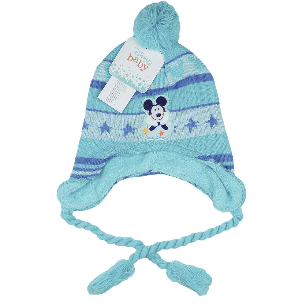Disney Mickey egér bélelt kötött sapka