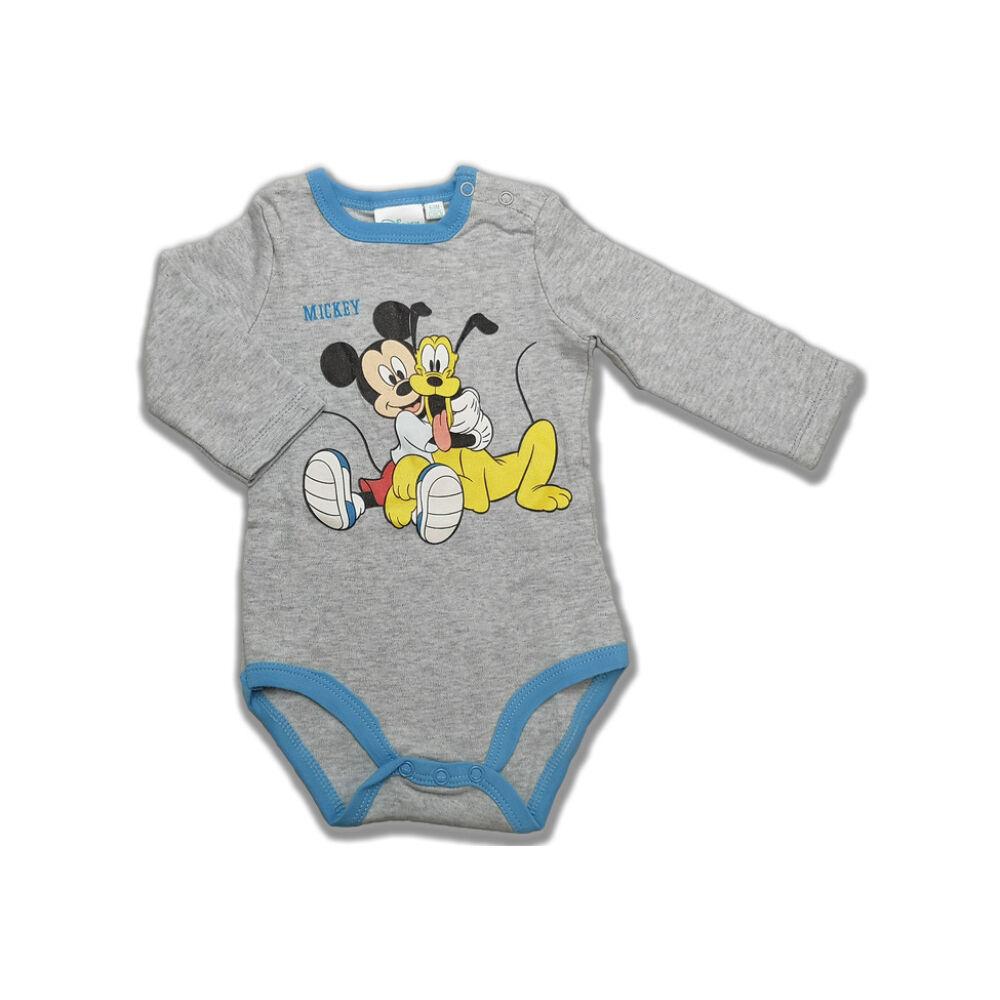 Mickey és Pluto hosszú ujjú body