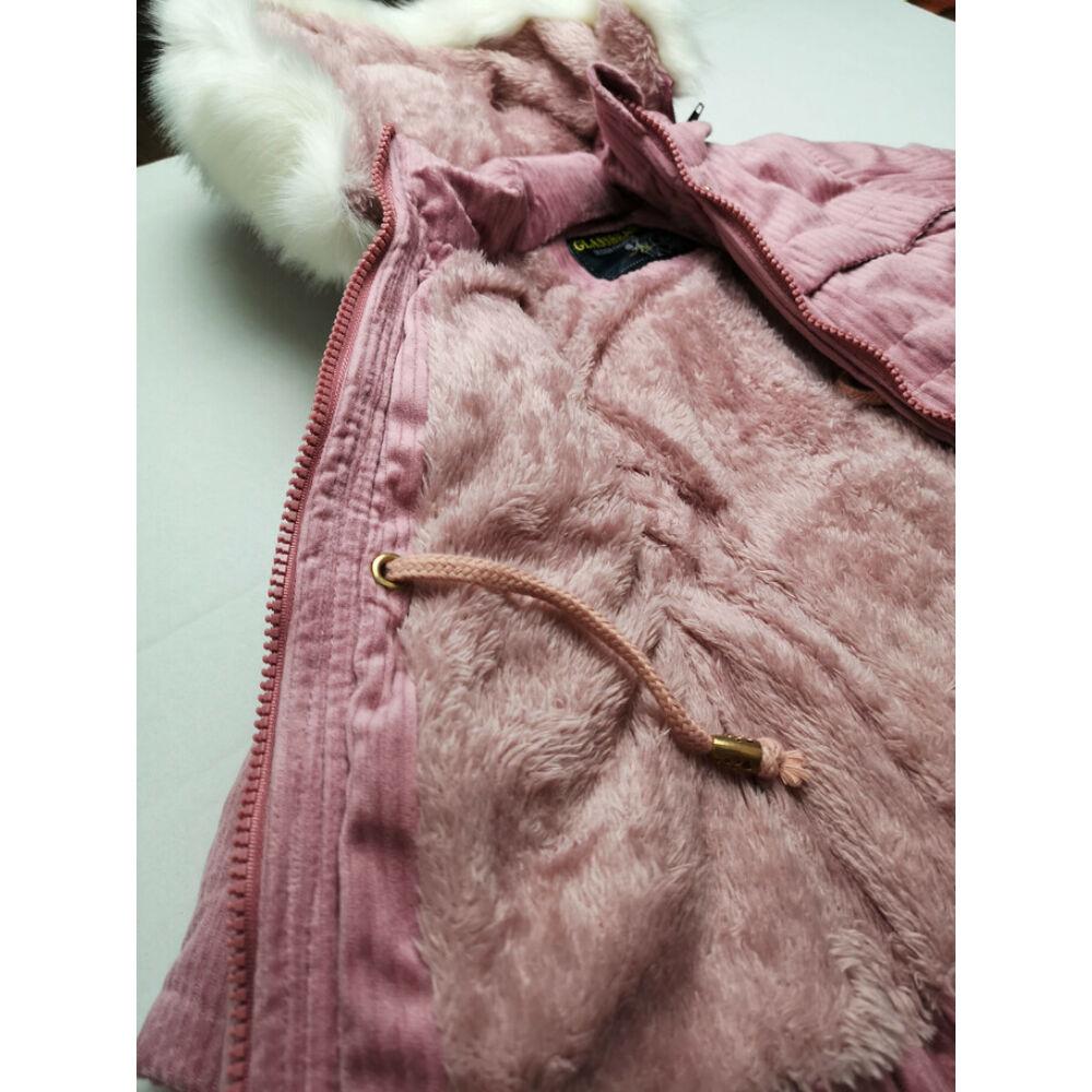 Kordbársony kabát