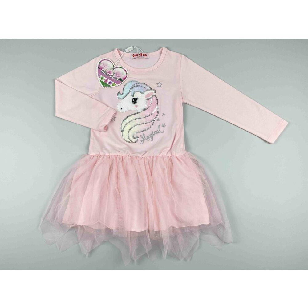 Kislány csillámpónis ruha