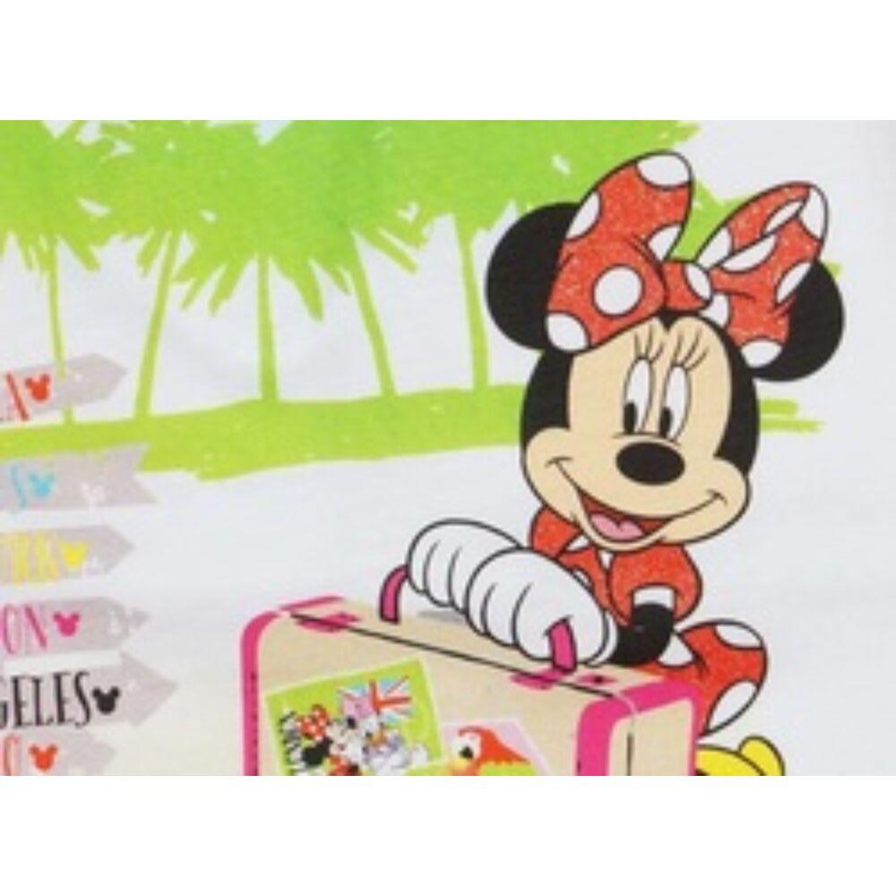 Disney Minnie egér ujjatlan lányka pöttyös ruha közeli