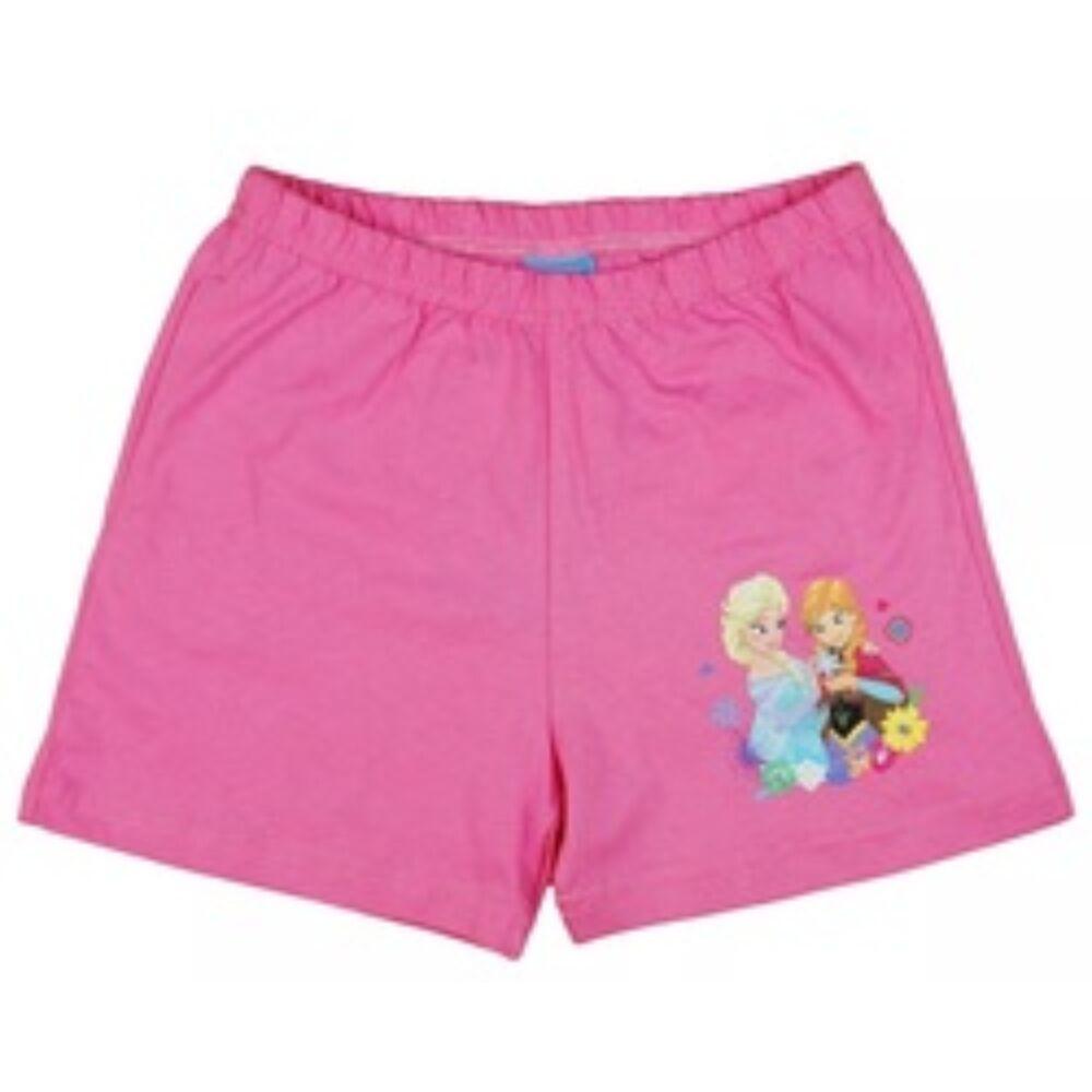 Jégvarázs Elza rózsaszín kislány sort nyári rövidnadrág