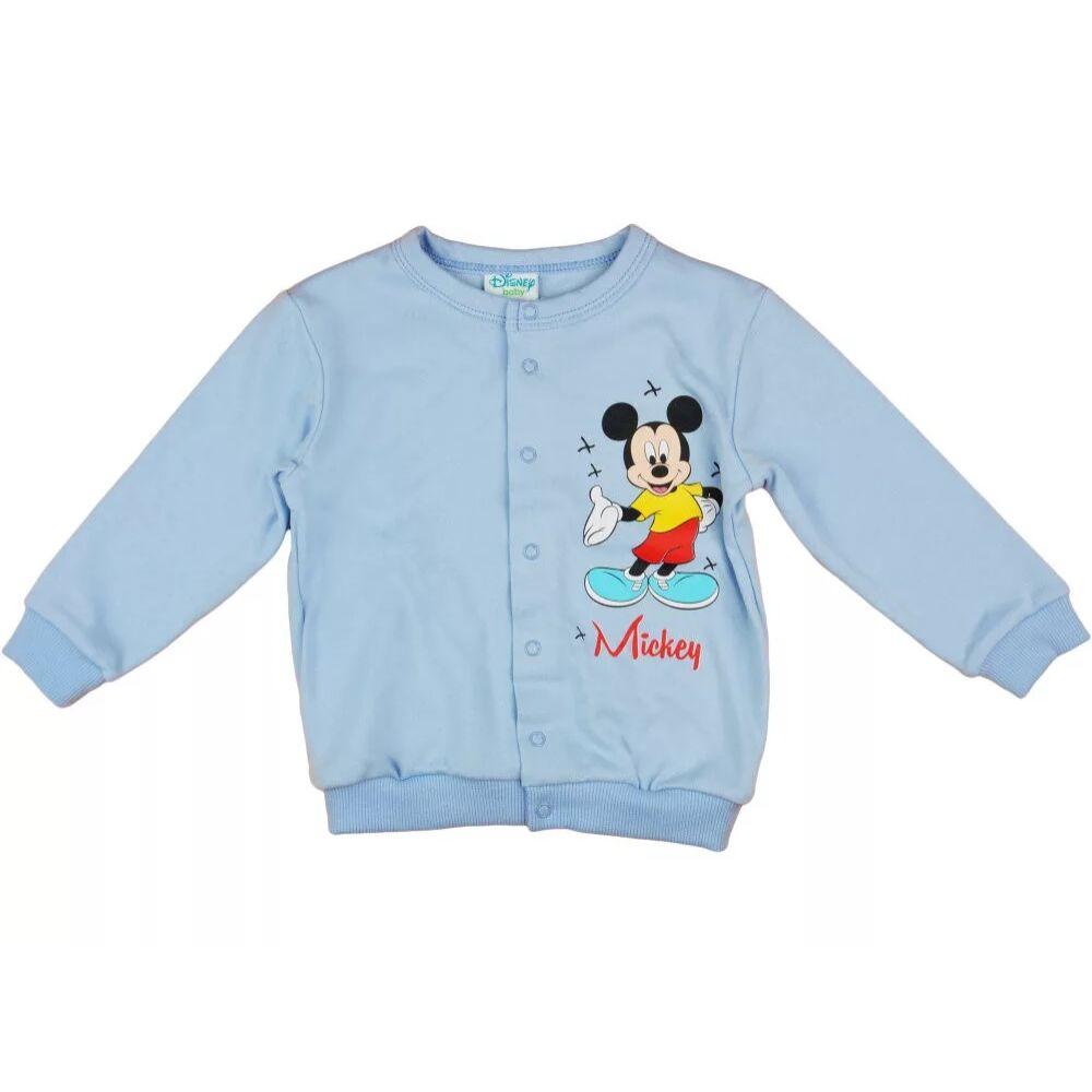 Disney Mickey baba kocsikabát Vékony, pamut anyagból készült elején végig patentos baba kardigán, világoskék.