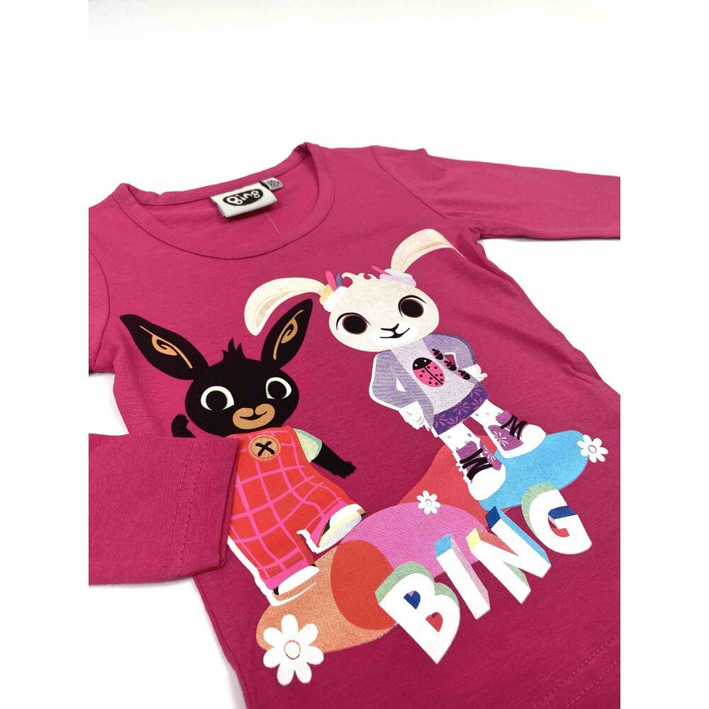 Kislány Bing nyuszis hosszú ujjú felső