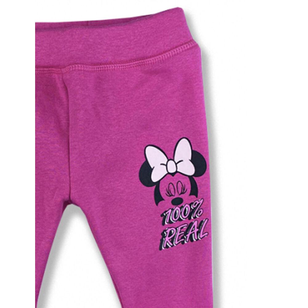 Minnie mintás bélelt leggings