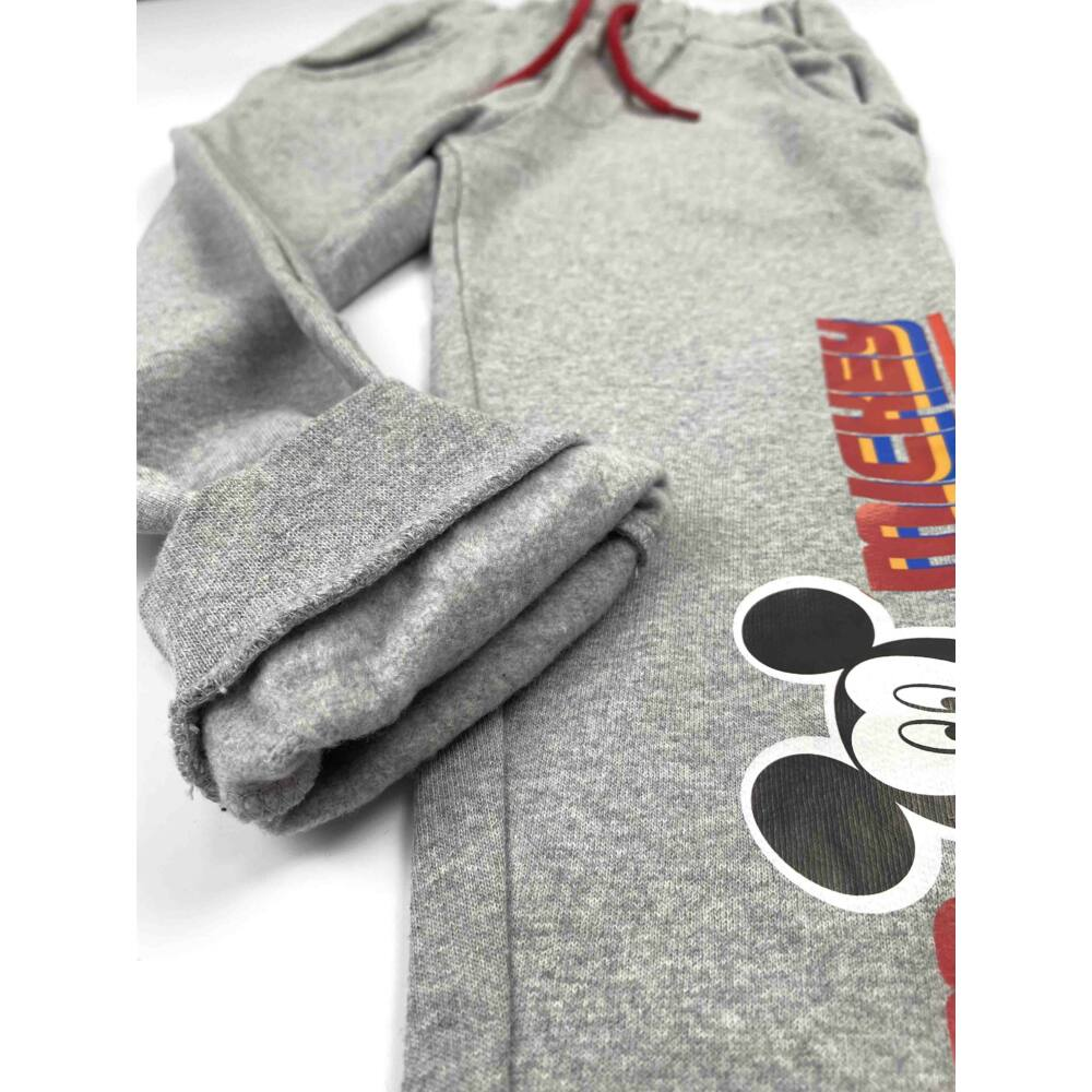 Mickey egeres kisfiú bolyhos belsejű melegítőnadrág