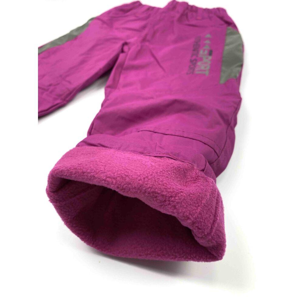 Kislány vízlepergetős bélelt nadrág